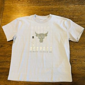 Under Armour Project Rock Boyfriend Tee L Respect